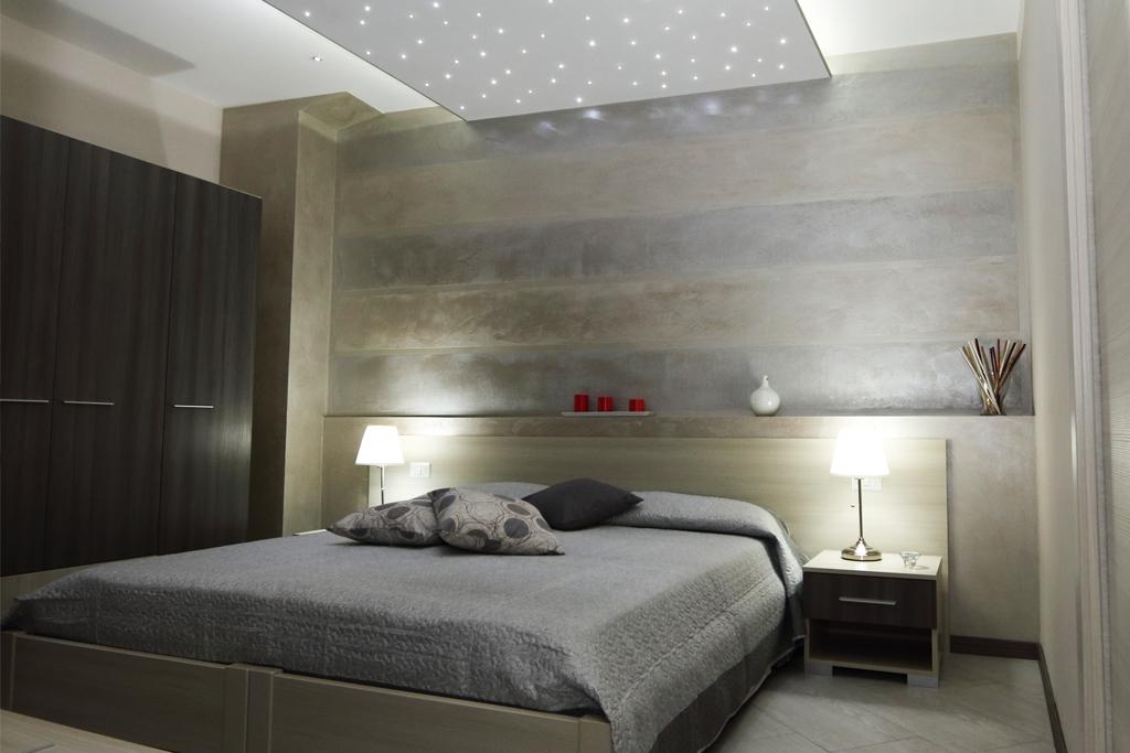 Charme e relax la rendono  una suite da sogno, ideata per la coppia.